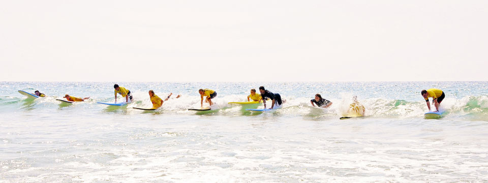 Photo surf Porge surf school waveparty!