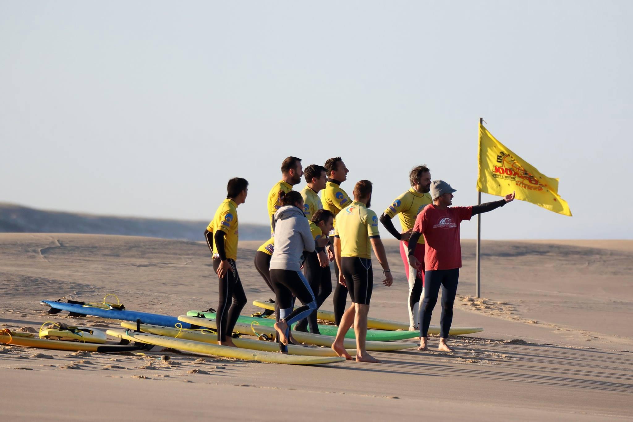 Le Porge surf lessons, classes of surf in Le Porge