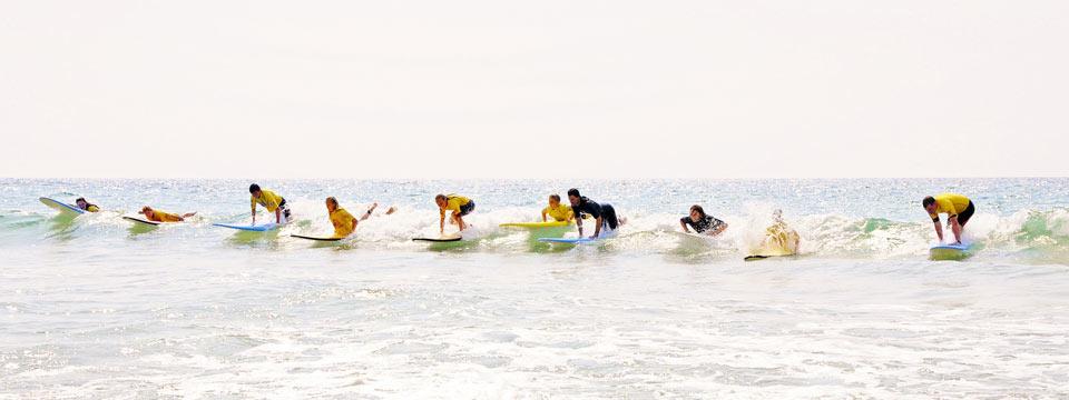 Photo surf Porge surf school waveparty!